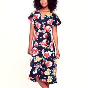 Floral Wrap Midi Dress by Who What Wear